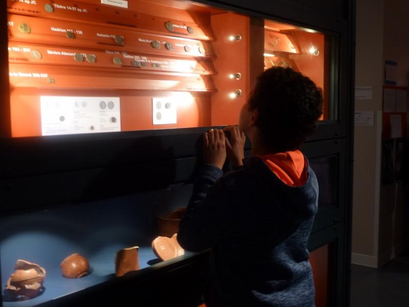 Monnaies gallo-romaines Nuit des musÇes 2019